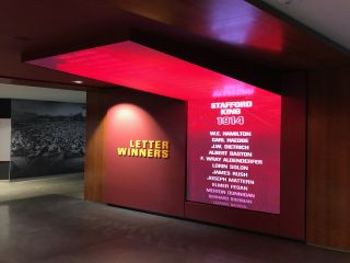PixelFLEX and Advent Create Letterwinner Tribute at University of Minnesota's Athletes Village