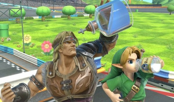 Simon Belmont and Link