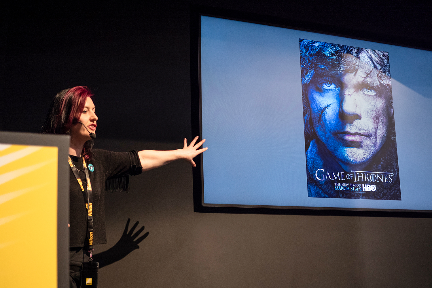 Game of Thrones' stills photographer reminisces on show at TPS talk