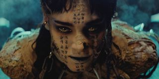 The Mummy Sofia Boutella chained up