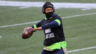 Russell Wilson and the Seattle Seahawks take on Philadelphia on Monday Night Football.