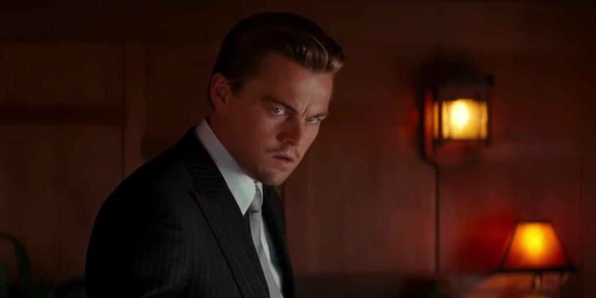 Leonardo DiCaprio is Inception's final scene