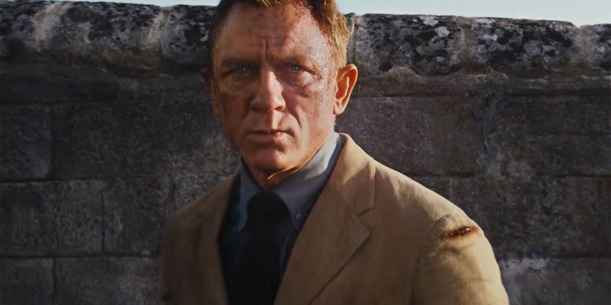 Daniel Craig looking fierce as James Bond In No Time To Die trailer
