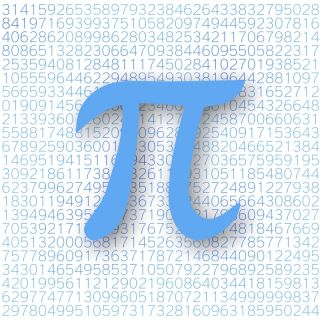 An illustration of the symbol for Pi.