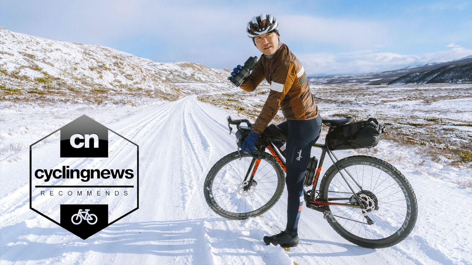MY KILOMETRE Gravel Men Thermal Bib Tights Winter Cycling Bib Pants with Side Pockets