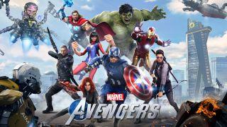 Marvel's Avengers omslagsfoto
