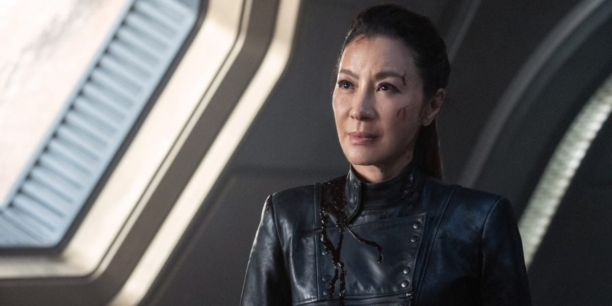 Michelle Yeoh on Star Trek: Discovery