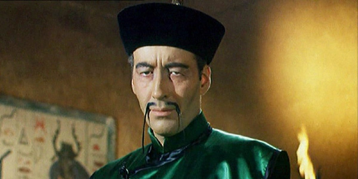 Christopher Lee in The Brides of Fu Manchu