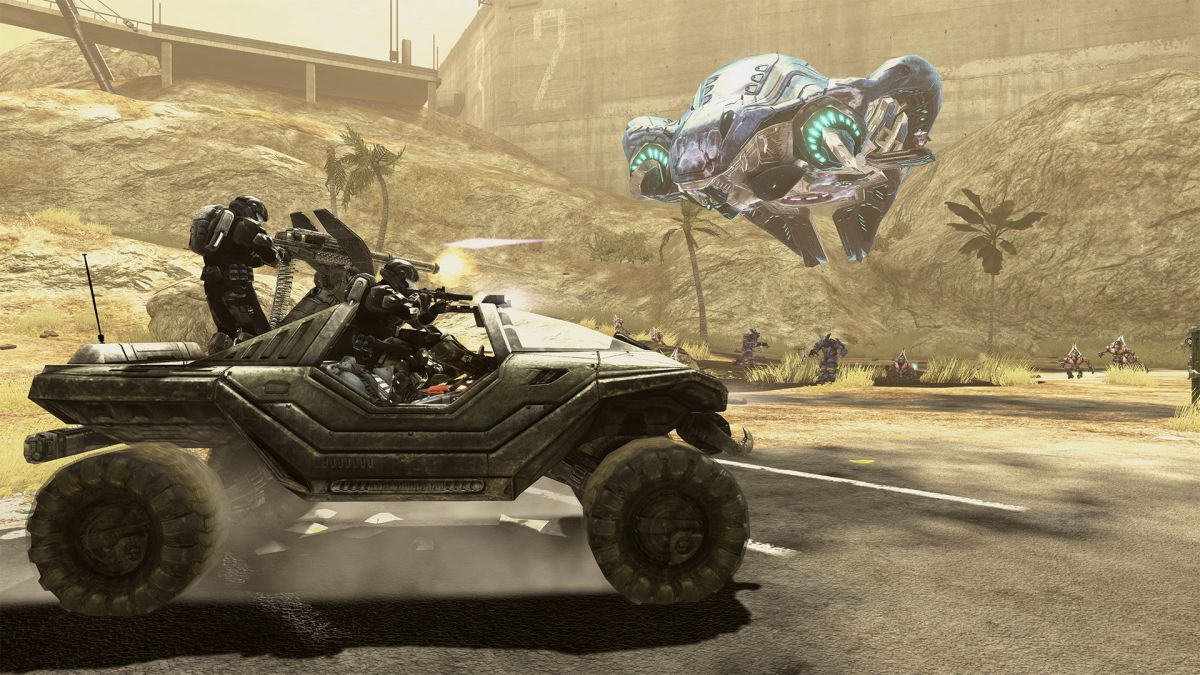 Halo 3: ODST and Firefight are out on PC now