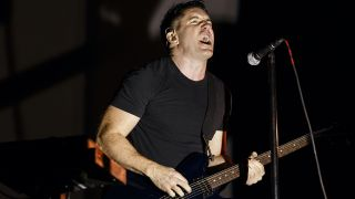 Singer Trent Reznor of Nine Inch Nails performs during Day 1 of Pemberton Music and Arts Festival on July 18, 2014 in Pemberton, Canada