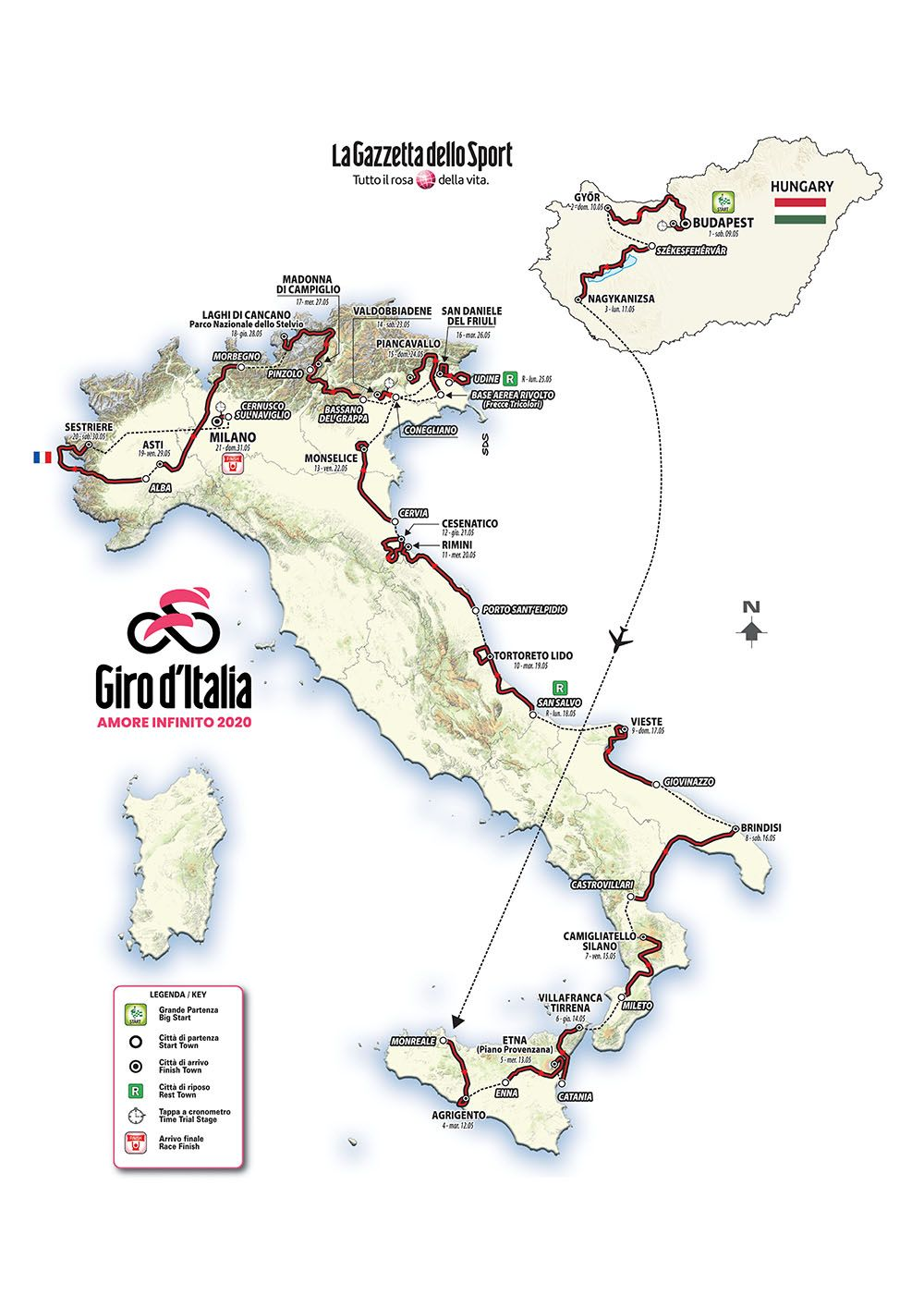 2020 Giro d'Italia wildcard teams announced