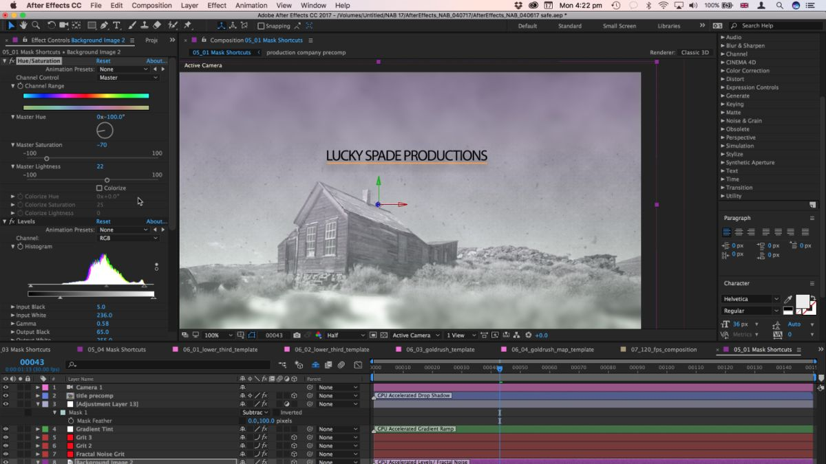 Known issues in After Effects CC 2017 - Adobe Inc.
