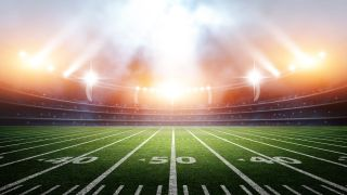 Cisco supplied image of an American Football field.