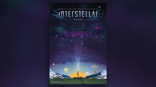 A poster for the potential Interstellar Probe mission, which would seek to lay the foundation for future journeys to other star systems.