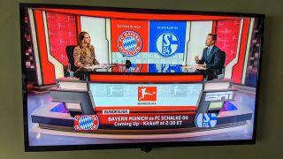 Bundesliga preview from ESPN studios on TV