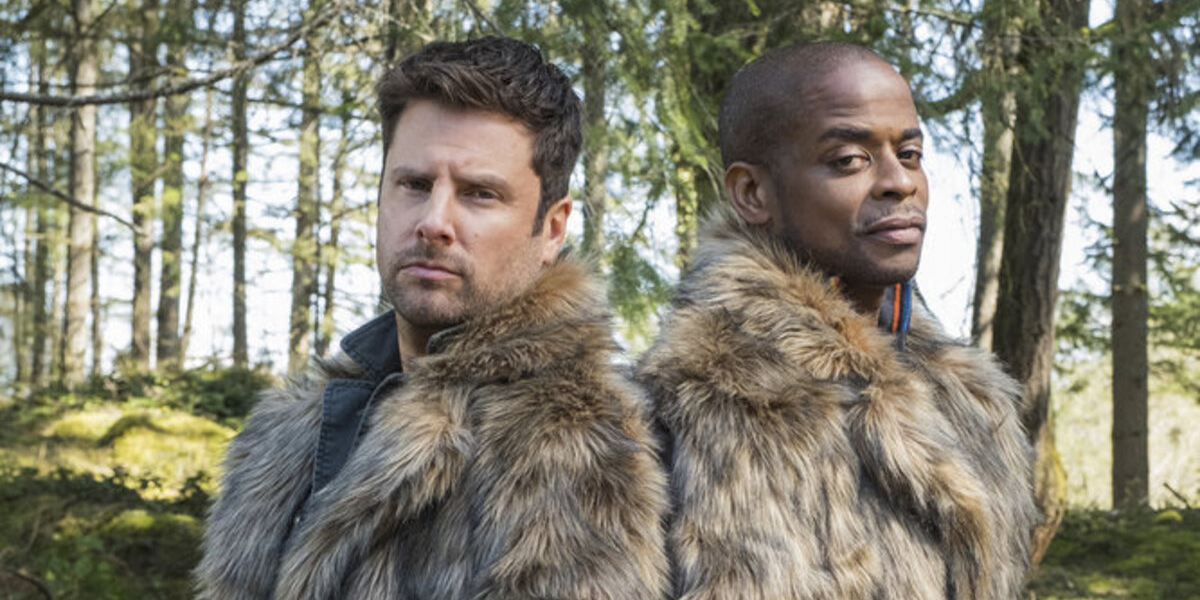 Psych 2 Lassie Come Home James Roday Shawn Spencer Dule Hill Gus Guster Peacock