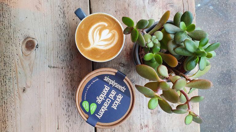 porridge and snack pot brand Simplyseedz