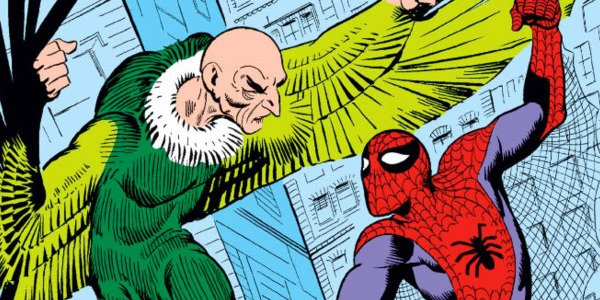 The Vulture and Spider-Man