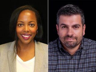 Amazon's IMDb TV content chiefs, Lauren Anderson and Ryan Pirozzi