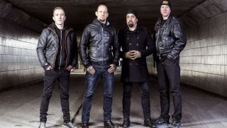 A promotional picture of Volbeat