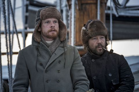 'The North Water' stars Jack O'Connell and Stephen Graham.