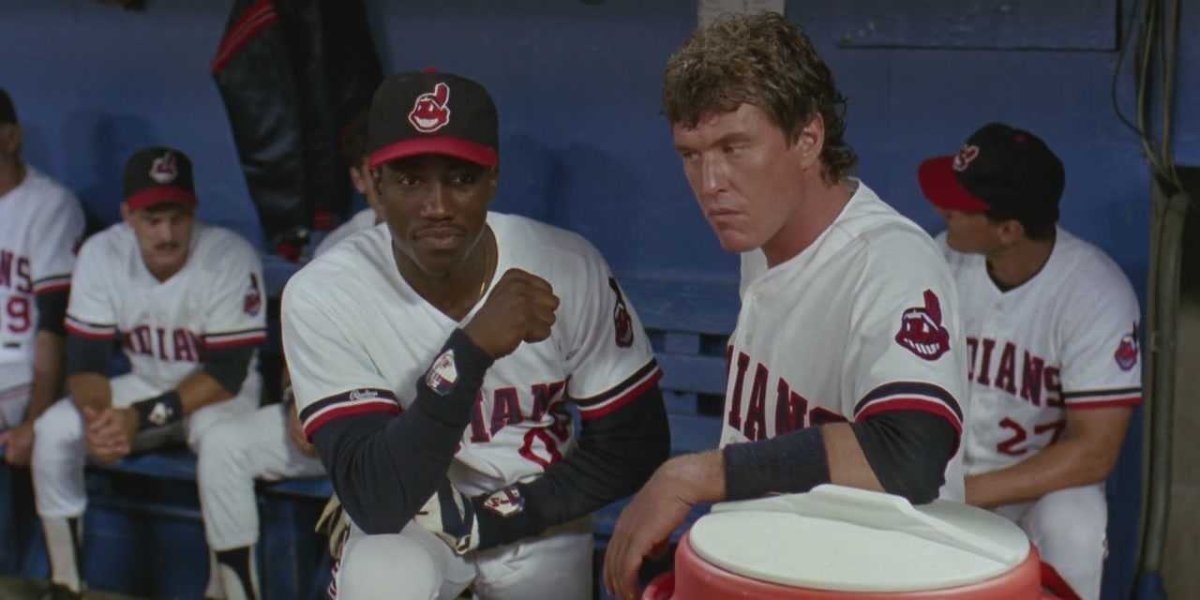 Wesley Snipes and Tom Berenger in Major League