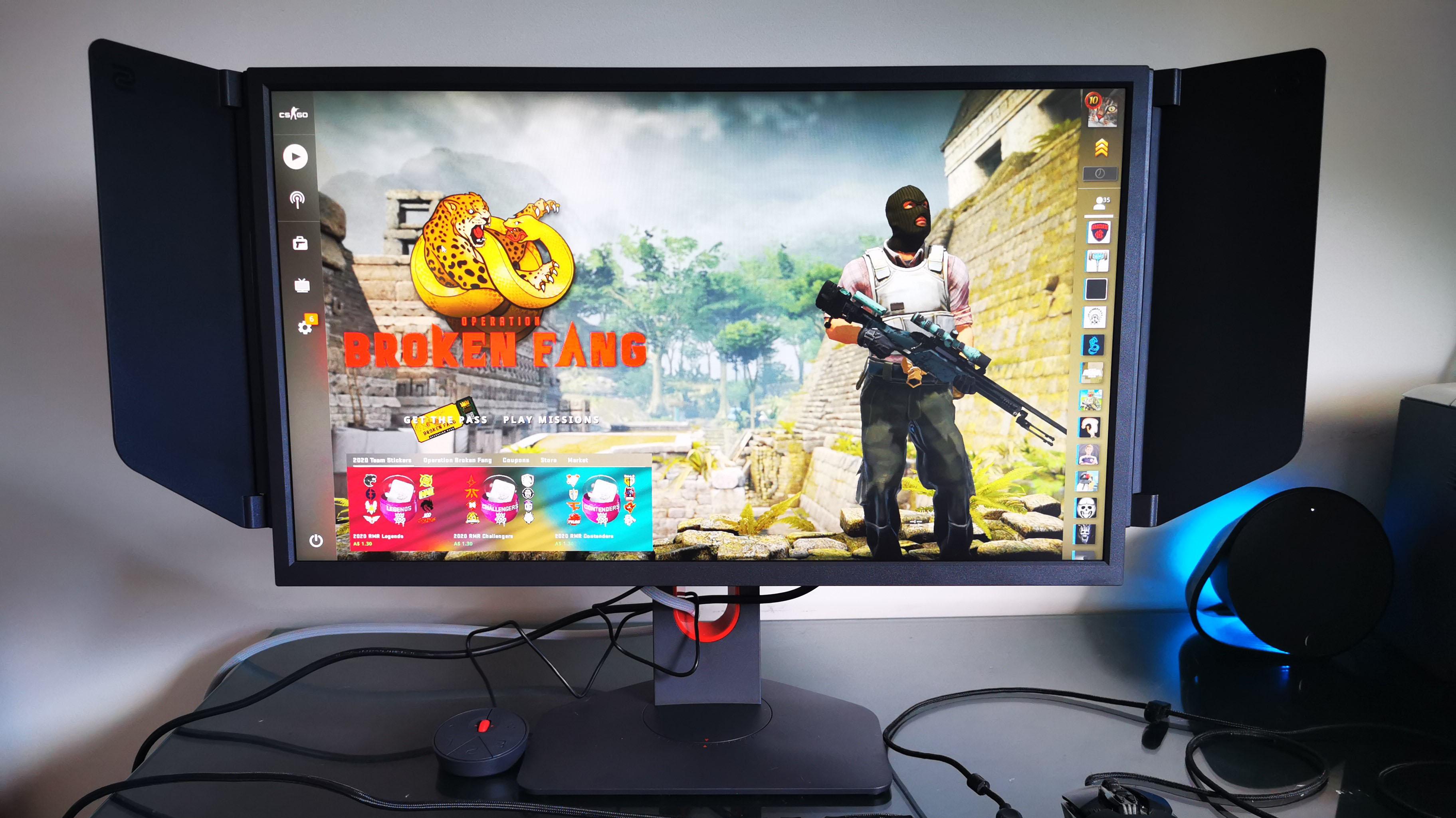BenQ Zowie XL2546K gaming monitor