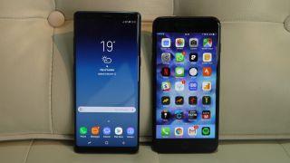 Samsung Galaxy Note 8 Vs Iphone 7 Plus Techradar