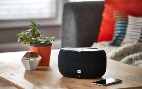 JBL Link 300 Review: A Booming Midsize Smart Speaker | Tom's