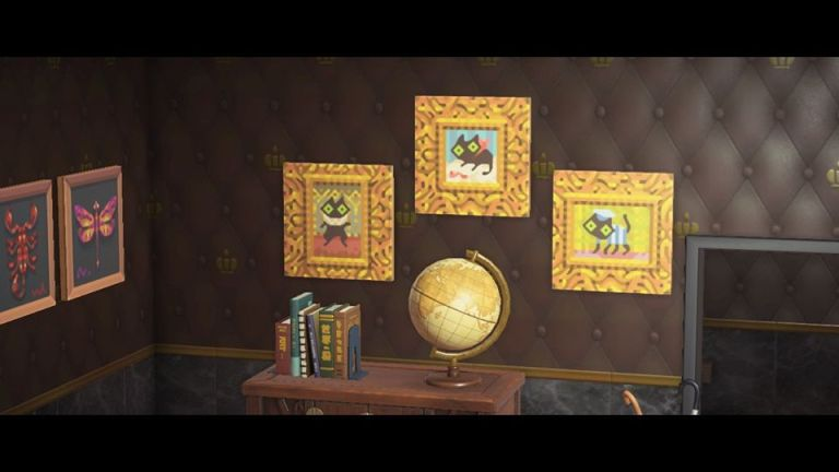 Animal Crossing: cat art