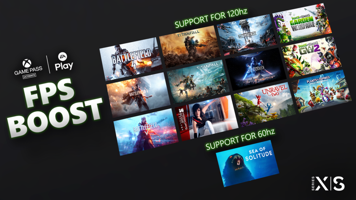 Flera EA Play-spel som Titanfall 2 läggs till i Xbox FPS Boost