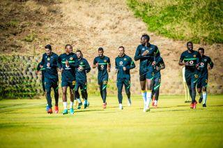 Kaizer Chiefs training