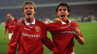 David Beckham Gary Neville Juventus