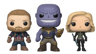 Avengers Infinity War funkos Pops and Dorbz