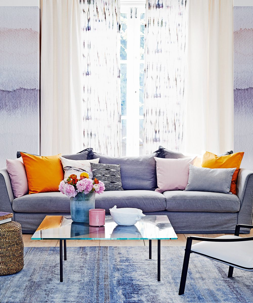 Curtain Ideas For Living Rooms Curtain Design Ideas Homes Gardens