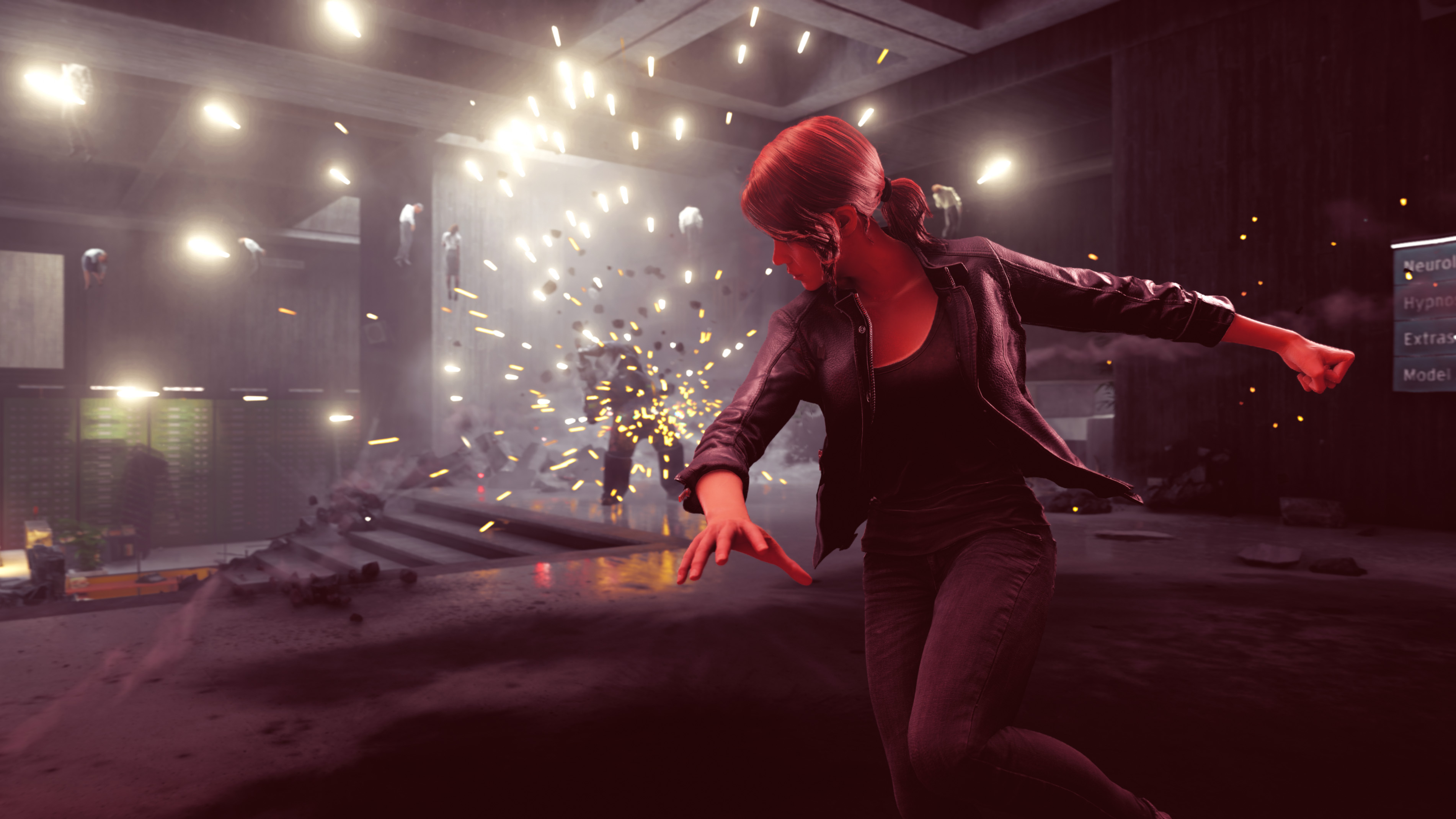 Control's Jesse using supernatural ability