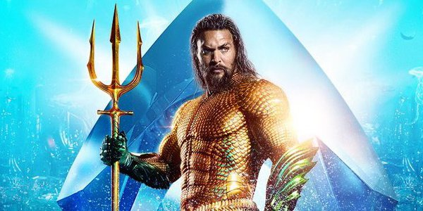 Aquaman in his poster