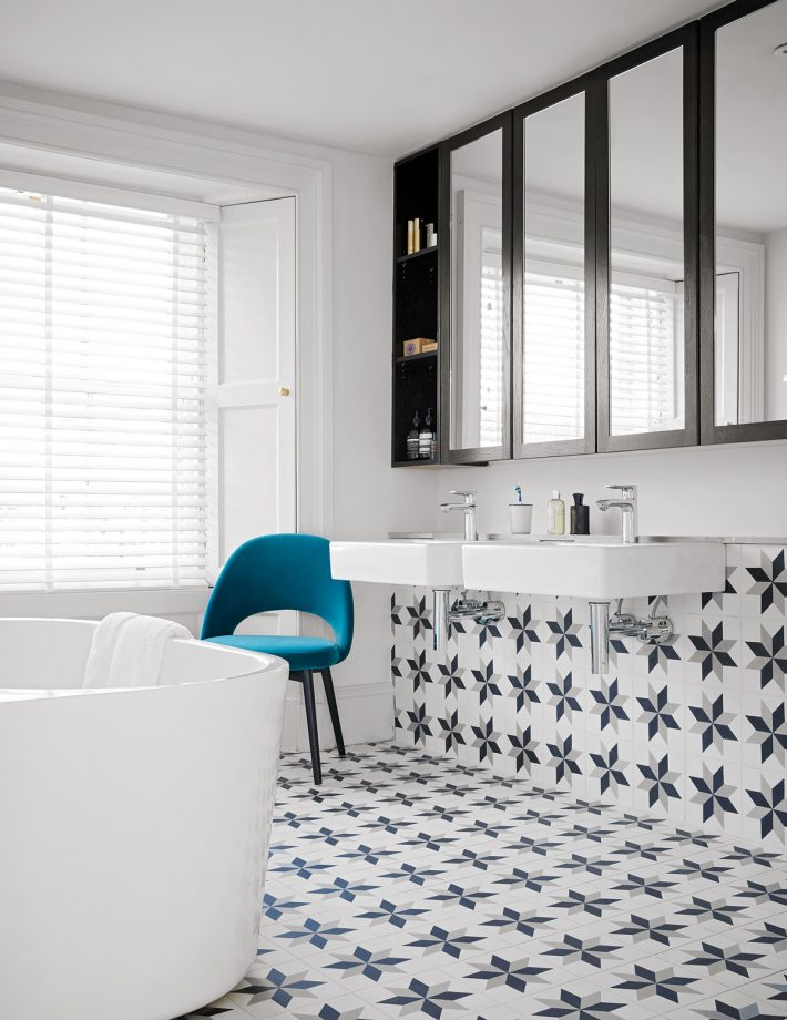 Pretty Encaustic Tiles To Add Pattern And Colour To Your Bathroom
