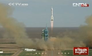 Shenzhou 10 Launch