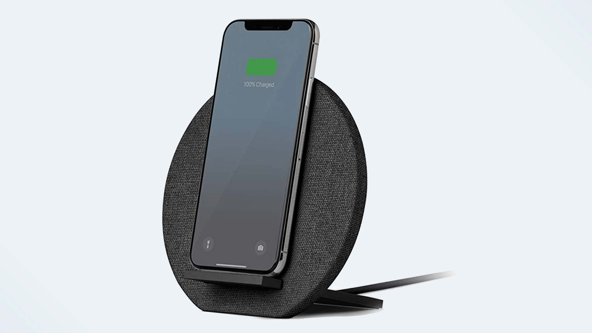 Best iPhone 12 Accessory: Native Union Dock Wireless Charger Leather Stand