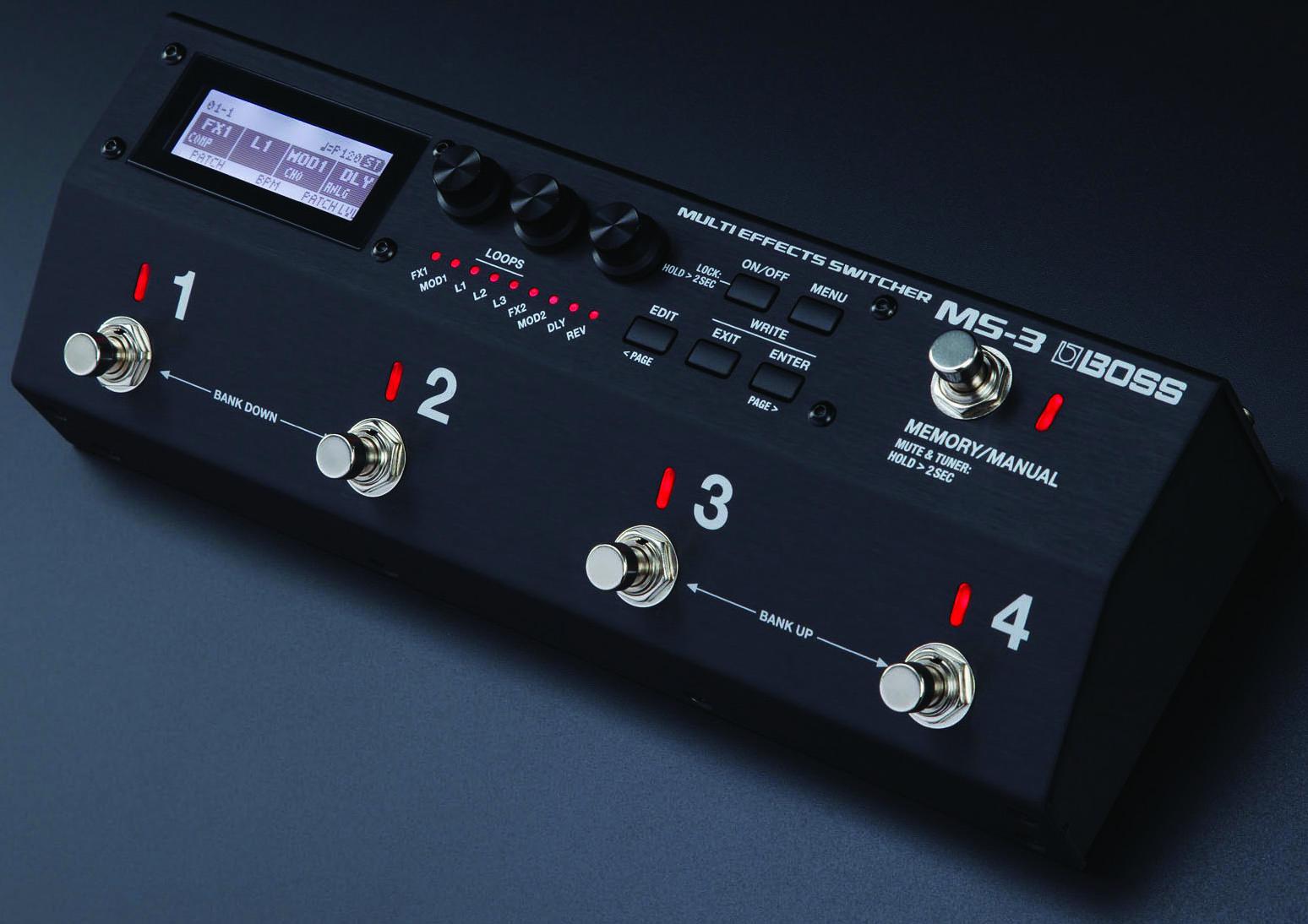Review: Boss MS-3 Multieffects Switcher | Guitarworld