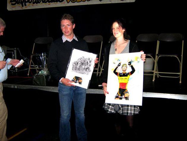 Emma Silversides and Stijn Devolder