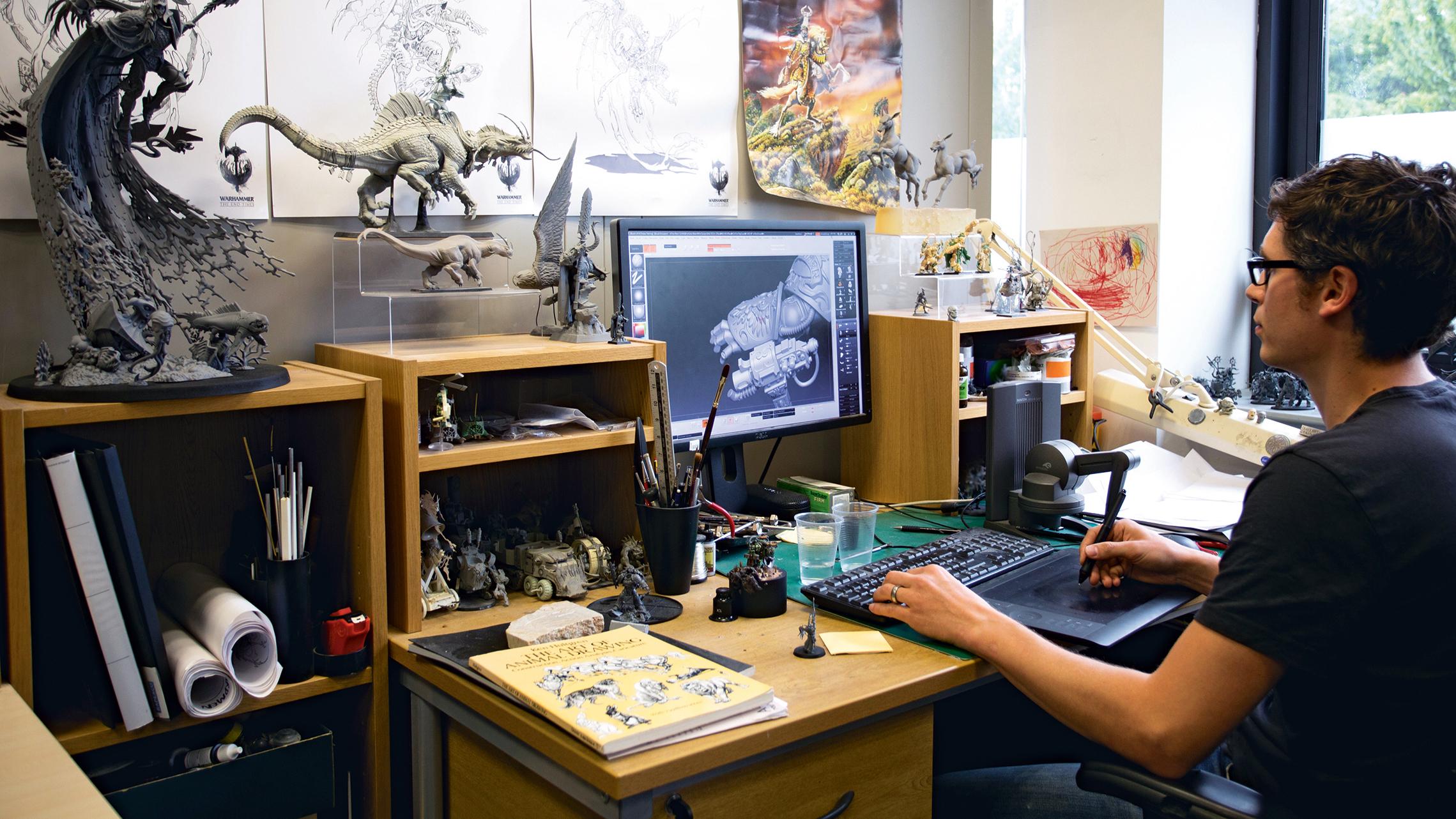 Inside Games Workshop