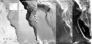 larsen c iceberg calving