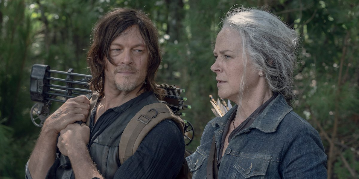 the walking dead carol and daryl