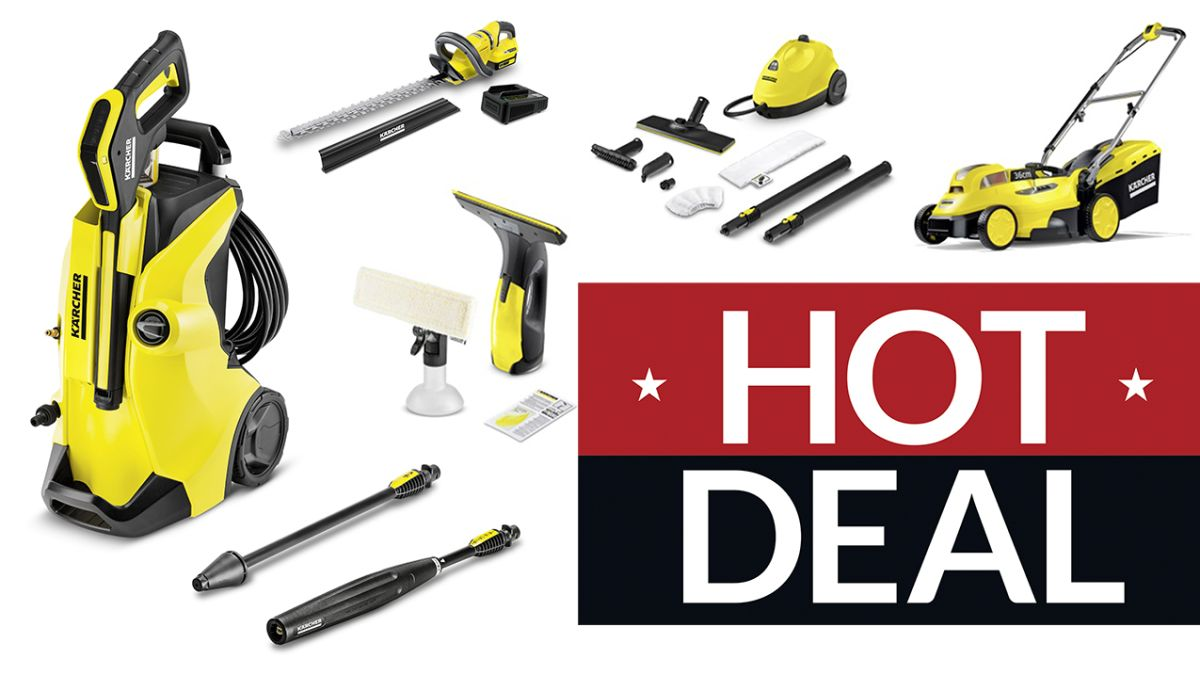 Karcher Launches Its Black Friday Sale Up To 40 Off Pressure Washers To Window Vacs But You Should Wait T3
