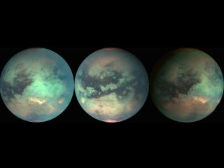 Titan Mosaics from Cassini Spacecraft Flybys