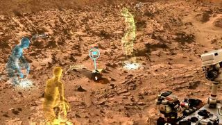 OnSight 3D Simulation of Mars
