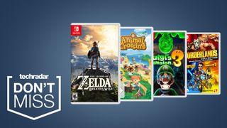 Forget Ps5 Best Buy Black Friday Deals Offer Big Savings On Nintendo Switch Games Techradar
