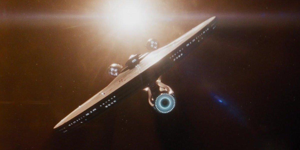 USS Enterprise in Star Trek 2009